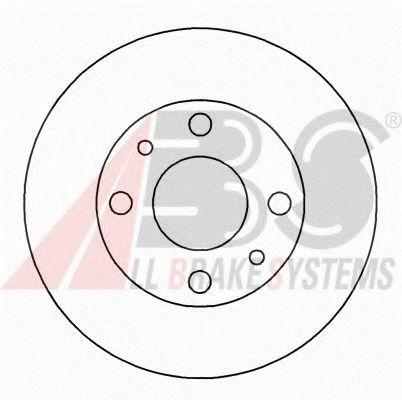 Диск гальмівний Fiat Uno,Polonez,Ibiza -93 227X10,8 ABS 15020