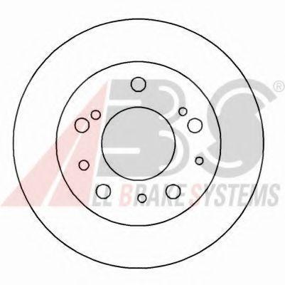 Гальмiвнi диски ABS 15045