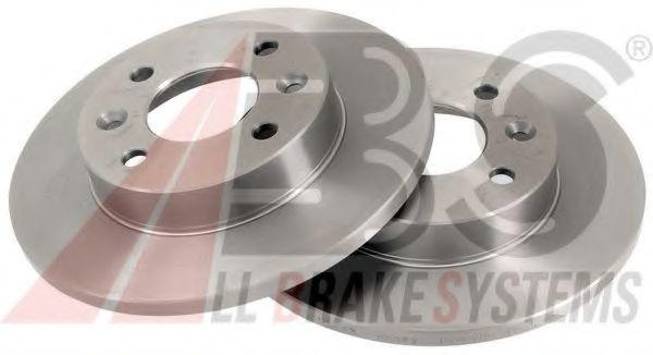 Диск тормозной DACIA/RENAULT 5/11/19/21/CLIO/EXPRES передн. (пр-во ABS)                              в интернет магазине www.partlider.com