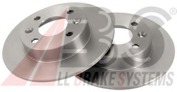 Диск тормозной RENAULT 5/CLIO/EXPRES/TWINGO передн. (пр-во ABS)                                      в интернет магазине www.partlider.com