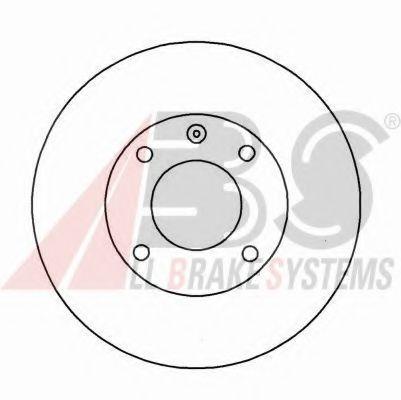 Диск тормозной AUDI/SEAT/VW передн. (пр-во ABS)                                                      в интернет магазине www.partlider.com