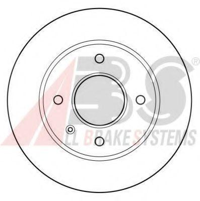 Диск тормозной FORD ESCORT/ORION/SIERRA передн. вент. (пр-во ABS)                                     арт. 15728