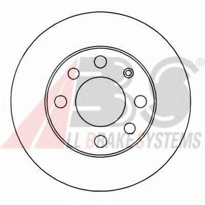 Гальмiвнi диски ABS 15751