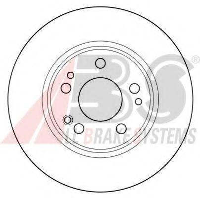 Гальмiвнi диски ABS 15789
