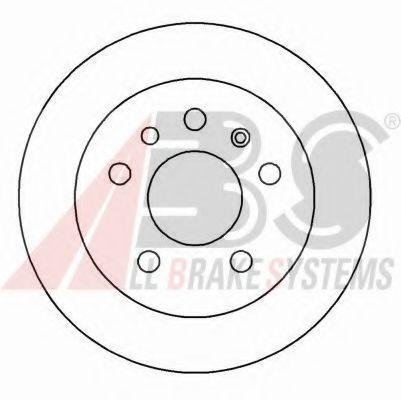 Гальмiвнi диски ABS 15818