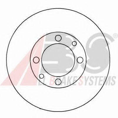 Диск тормозной ВАЗ 2108 передний (пр-во ABS)                                                         TRW арт. 15860