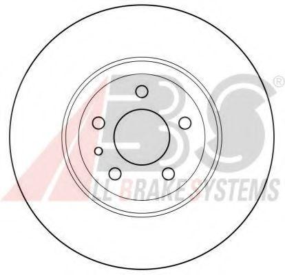 Диск торм. передний, 10- 284mm*5отв  арт. 15953