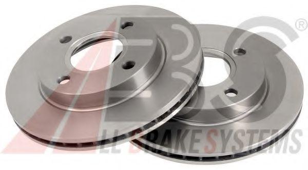Диск тормозной FORD ESCORT/FIESTA передн. вент. (пр-во ABS)                                          ABS 15981