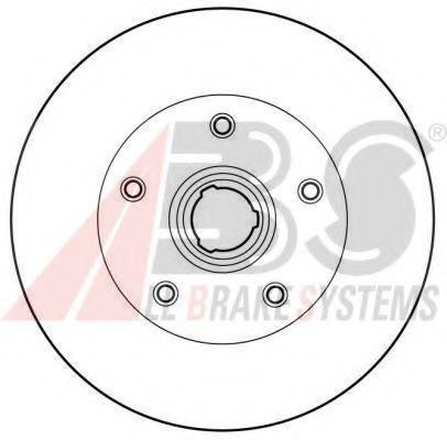 Диск гальмівний зад. VAG Golf/Vento/Passat 2.0/2.8/1.9tdi 91> ABS 16081