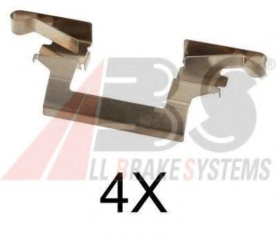 Комплектующие, колодки дискового тормоза  арт. 1614Q