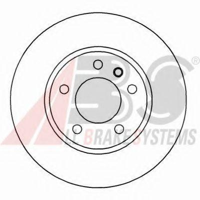 Гальмiвнi диски ABS 16263