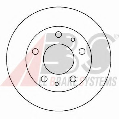 Диск гальмiвний Citroen/Fiat/Peugeot 94-02 ABS 16290