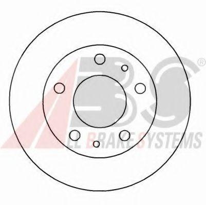 Диск гальмівний Fiat Ducato 94-02 вентил. (18) ABS 16292