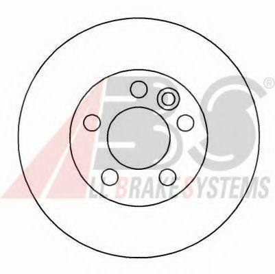 Диск тормозной FORD, SEAT, VW, передн., вент. (пр-во ABS)                                             арт. 16297