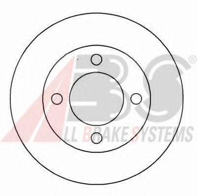 Гальмiвнi диски ABS 16299