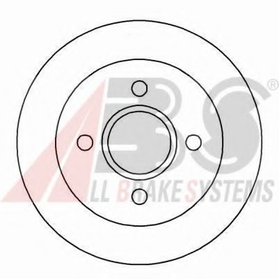 Тормозной диск  арт. 16375