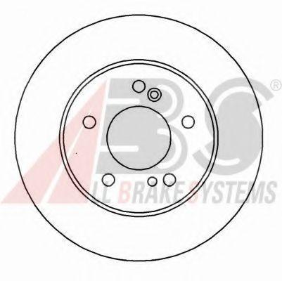 Гальмiвнi диски ABS 16450
