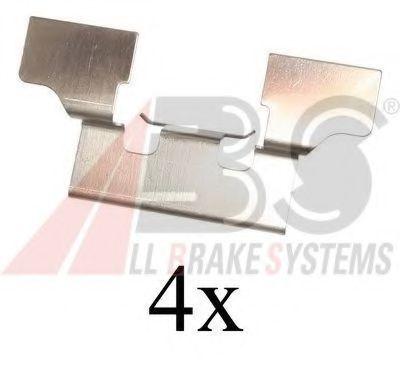 Комплектующие, колодки дискового тормоза  арт. 1647Q