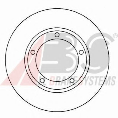 Тормозной диск  арт. 16562