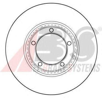 Тормозной диск  арт. 16565
