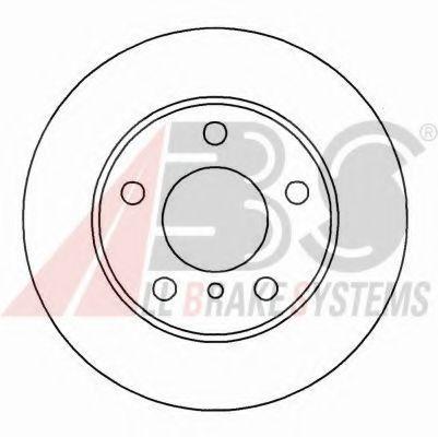 Гальмiвнi диски ABS 16567