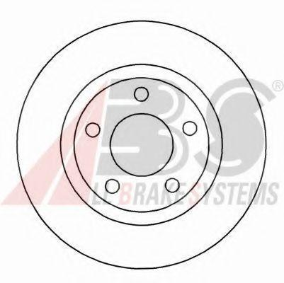 Диск тормозной AUDI/VW A4/A8/PASSAT передн. вент. (пр-во ABS)                                        ABS 16877
