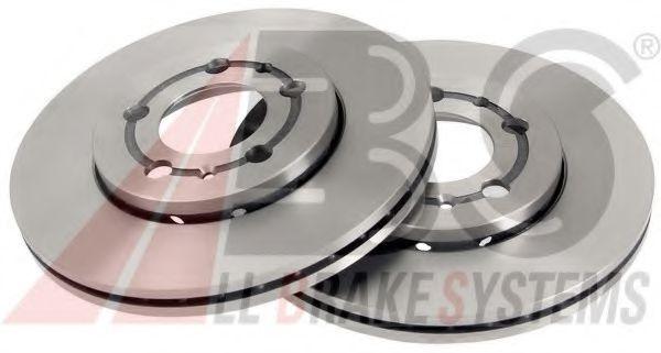 Диск тормозной AUDI/SEAT/SKODA/VW A3/OCTAVIA/GOLF/POLO передн. вент. (пр-во ABS)                     ABS 16880