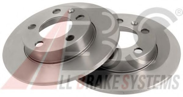 Диск тормозной AUDI/SEAT/SKODA/VW A3/LEON/OCTAVIA/BORA задн. (пр-во ABS)                             в интернет магазине www.partlider.com
