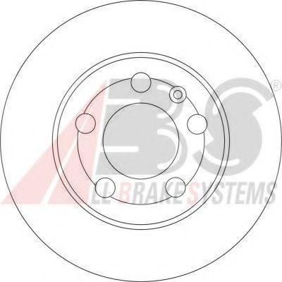 Гальмiвнi диски ABS 17009