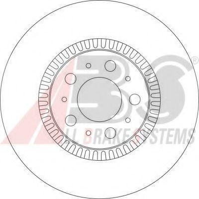 Гальмiвнi диски ABS 17012