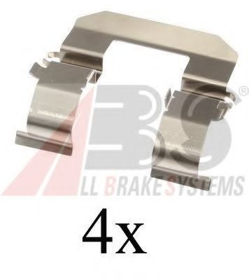 Комплектующие, колодки дискового тормоза  арт. 1704Q