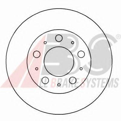 Тормозной диск  арт. 17055
