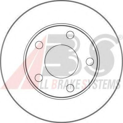 Гальмiвнi диски ABS 17056