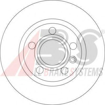 Диск гальмівний ABS 17190