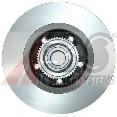 Brake disc pair ABS 17330C2