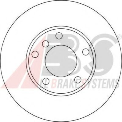 Диск гальмівний перед. Bmw 5(E39) 3.0-4.0 + Diesel 98-04 ABS 17335