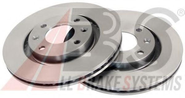 Диск гальмівний Peugeot Partner 01- ABS 17336