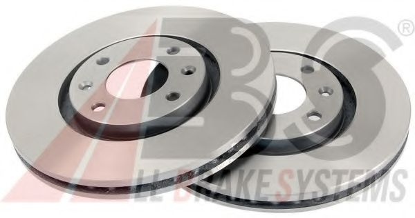 Диск тормозной CITROEN/PEUGEOT C5/XSARA/307 передн. вент. (пр-во ABS)                                ABS 17338