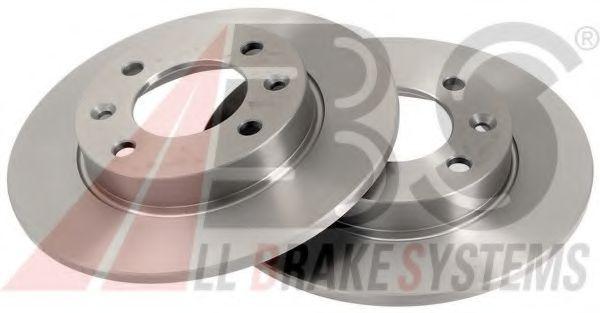 Диск тормозной CITROEN/PEUGEOT C2/C3/XSARA/307 задн. (пр-во ABS)                                     ABS 17357