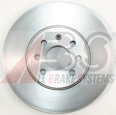 Диск гальмівний перед. Astra H Sedan / Kombi 3.04- (280x25mm) ABS 17463