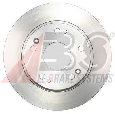 Диск гальмівний зад. Honda Accord VII 03- ABS 17465