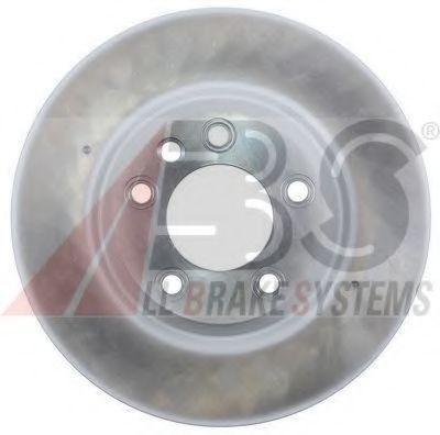 Диск тормозной AUDI/PORSCHE VW Q7/CAYENNE/TOUAREG передн. прав. вент. (пр-во ABS)                    ABS 17504