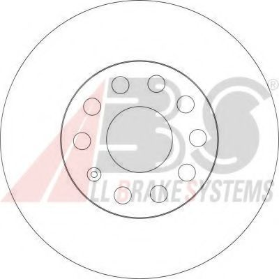 Диск тормозной AUDI/VW A3/GOLF/TOURAN 16