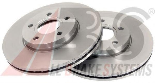 Диск тормозной FORD/VOLVO FOCUS/CMAX/C30 передн. вент. (пр-во ABS)                                   ABS 17586