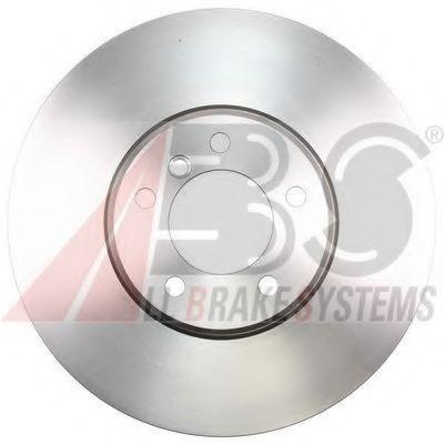Диск гальмівний передній BMW 5 E60-63 04- 348X36 ABS 17599