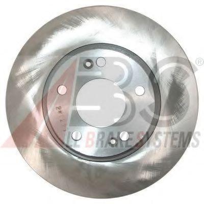 Диск гальмівний перед. Hyunday Tucson 2.0I,2.7I,2.0CRDI 04.06-,Kia Sportage III  ABS 17640
