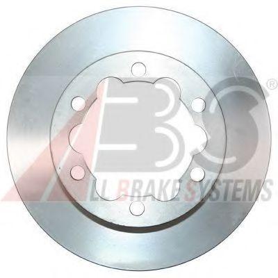 Диск гальмівний зад. DB Sprinter 5T 06-/Crafter ABS 17731