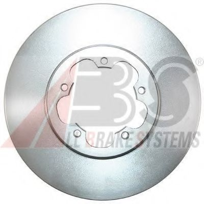 Диск гальмівний перед. Ford Transit 2.2TDCi/2.3 16V/2.4TDCi 04.06-  ABS 17743