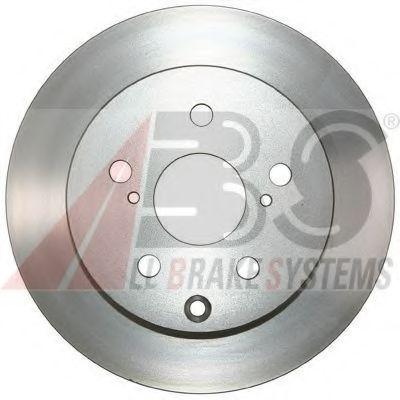 Диск гальмівний зад. Lexus RX270/350/450H 12-/Toyota Rav 4 IV 2.0D-3.5 08- ABS 17808