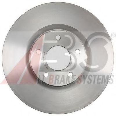 Диск гальмівний перед. (вентильований) 44Х320Х68 Nissan Qashqai// Renault Koleos 1.6Dci-2.5 02.07- ABS 17945